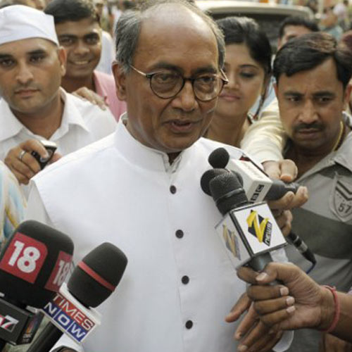 No meaning in exit poll results; they deserve to be consigned to the dustbin: Digvijay Singh