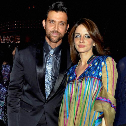 Hrithik Roshan and Sussanne in happier times
