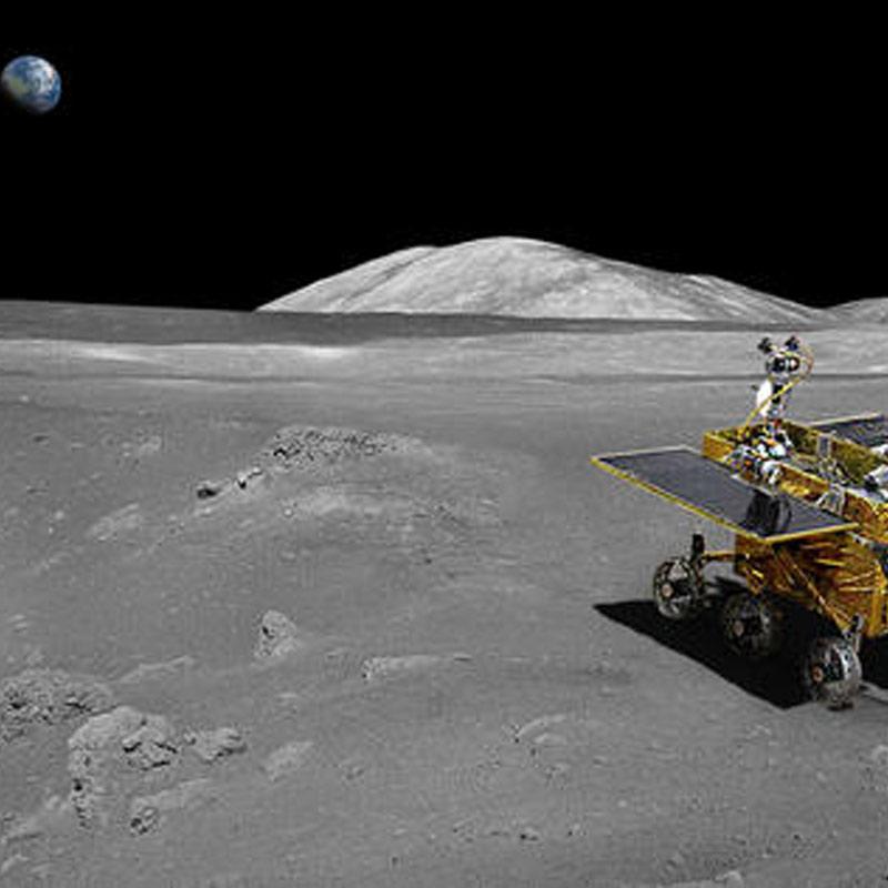 China's first lunar rover Jade Rabbit sends back photos ...
