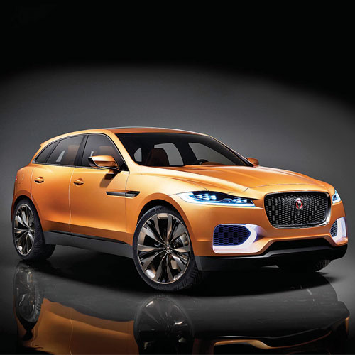 The Jaguar C X17 Combines The Character And Driving Experience Of A Sports  Car With Increased Presence, Style And Flexibility. A Five Seater Sports ...