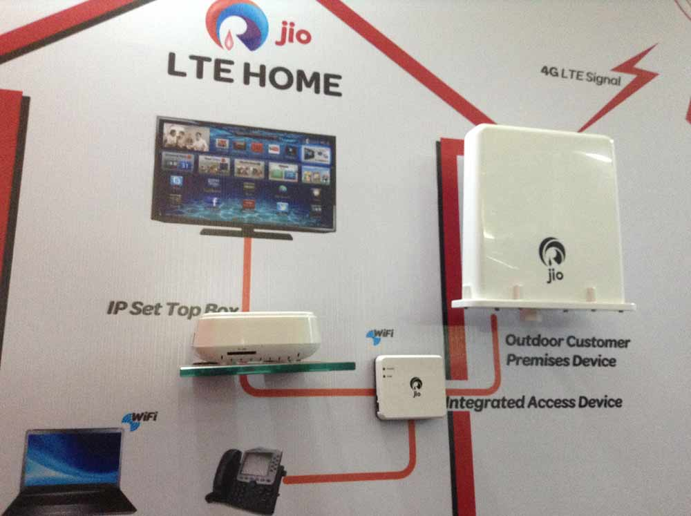 Reliance Jio Infocomm Demos 4g Lte For The First Time In