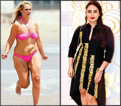 What body type are you? The S, U, V and X of the most desirable body