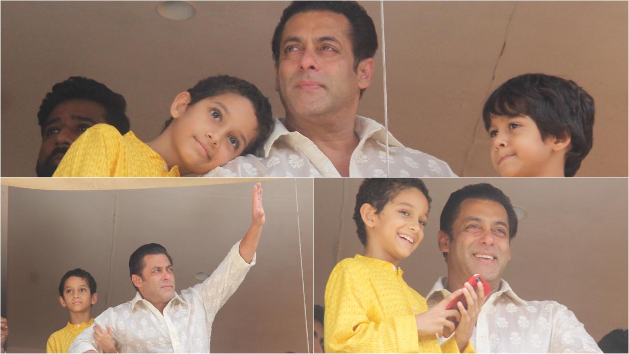 Salman Khan's Eid party pictures: Katrina Kaif, Jacqueline