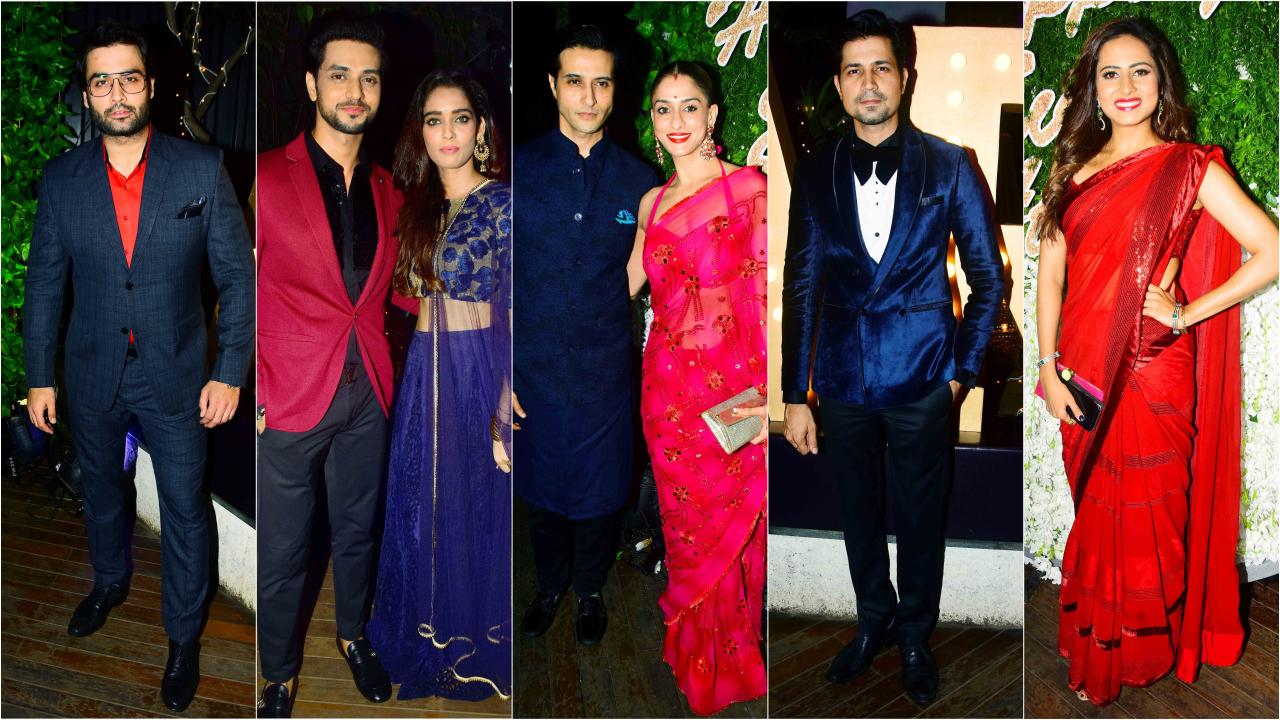 In Pics: Nia Sharma, Drashti Dhami, Vivian Dsena attend