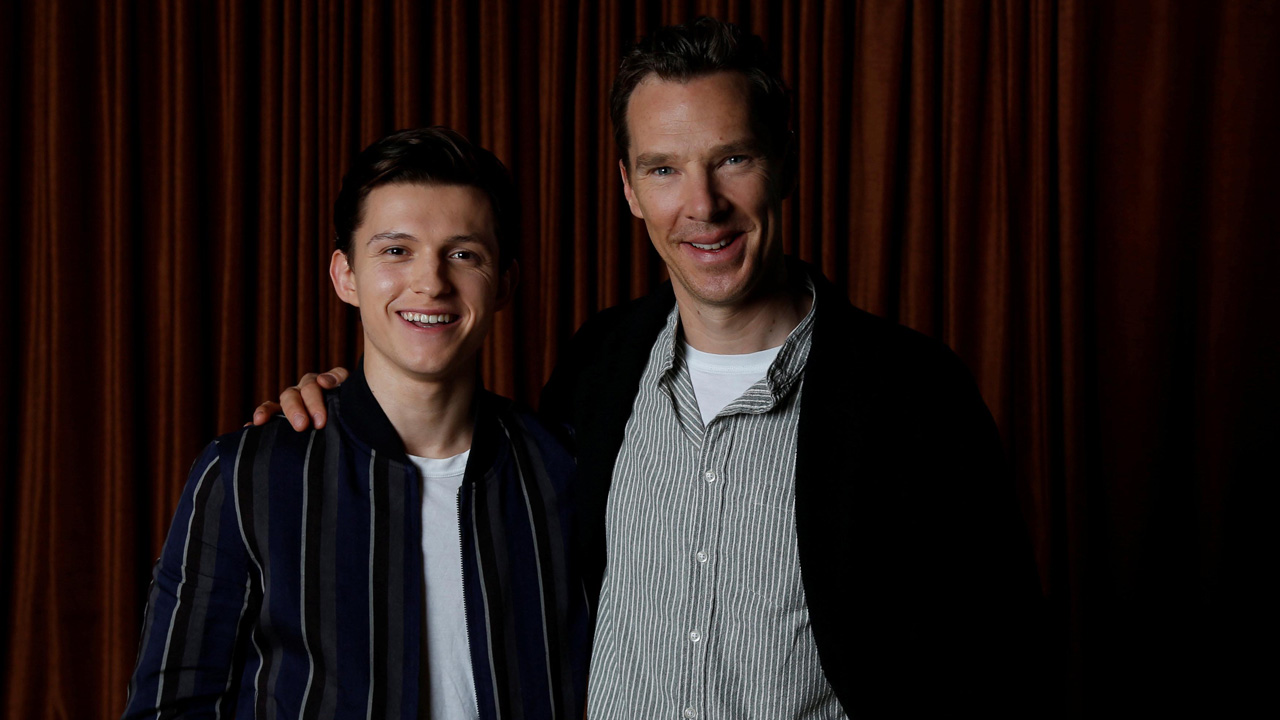 Benedict Cumberbatch's babysitting skills to 'monitor Tom Holland' have 'Infinity War' directors' approval