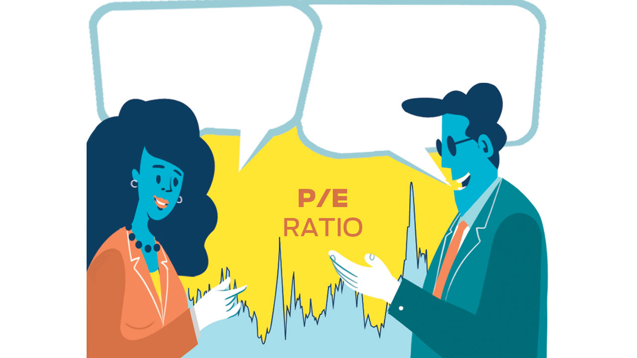 Want to enter the stock market? Use the P/E key