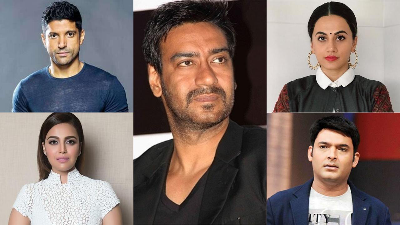 Amritsar Train Mishap: Farhan Akhtar, Taapsee Pannu, Ajay Devgn, Kapil Sharma condole the tragic loss of lives