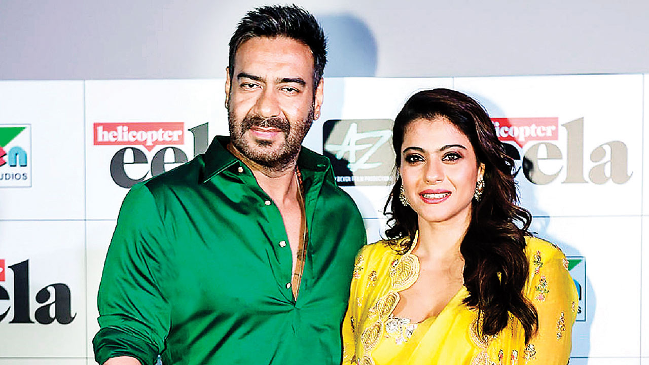 Ajay Devgn-Kajol to have 'Koffee' with Karan, today!