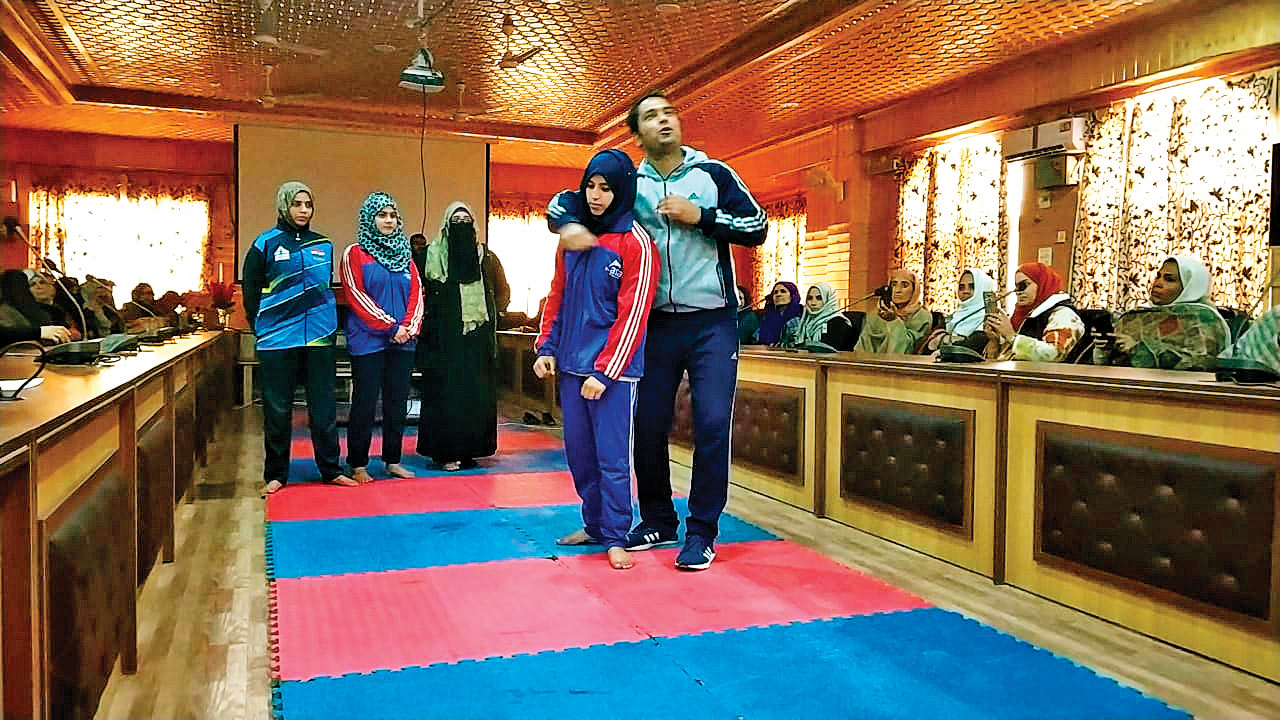 J women to learn martial arts, nail their harassers