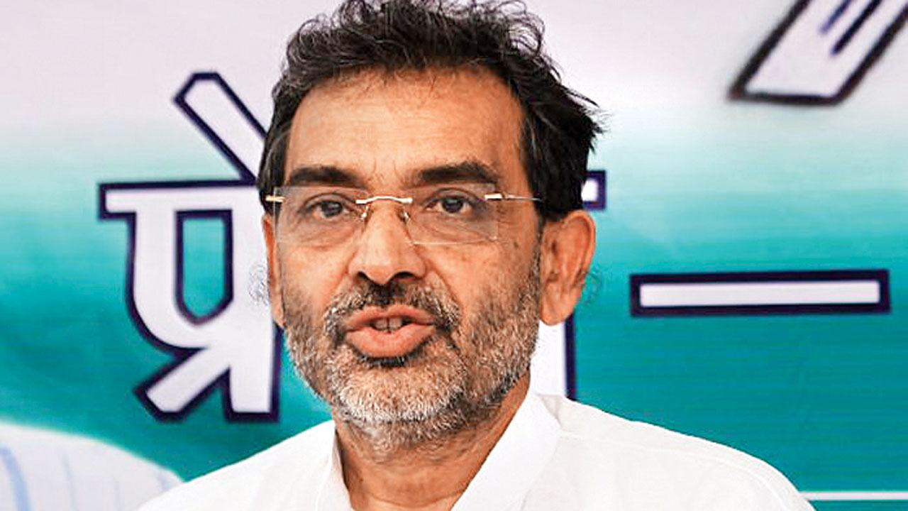 Upendra Kushwaha keeps all guessing over exit from saffron alliance