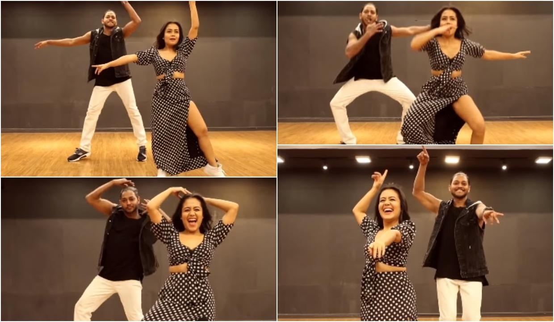 WATCH: Neha Kakkar dances to her song 'Aankh Marey' from Ranveer Singh-Sara Ali Khan's 'Simmba', Video goes viral!