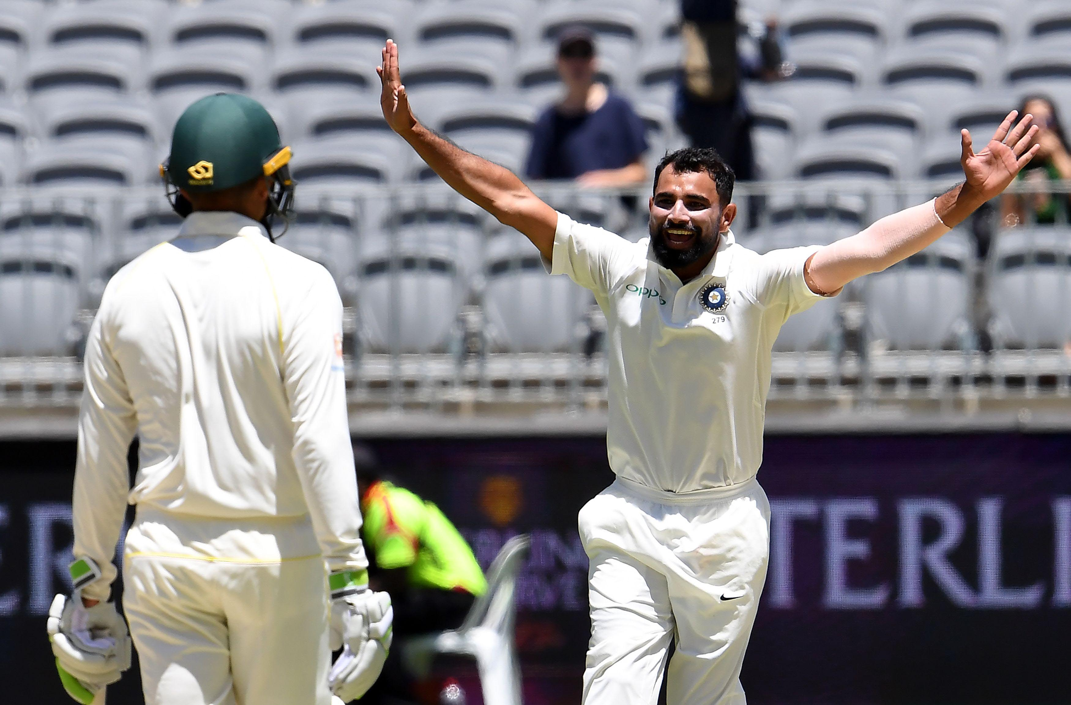 India vs Australia 2nd Test: Mohammed Shami takes 6 wickets, breaks Anil Kumble's 12 year old record
