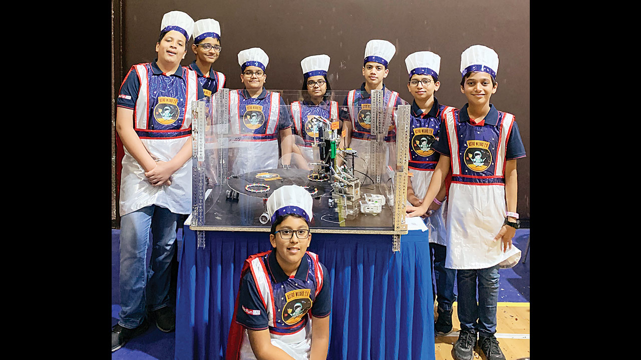 Mumbai kids shine bright in First Lego League robotics championship
