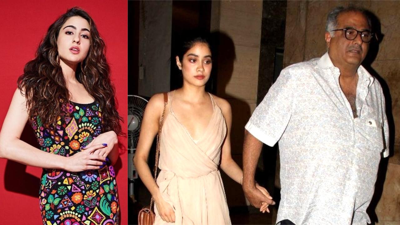 Rumour Has It: Insecure of Sara Ali Khan's growing popularity, Boney Kapoor blasts Janhvi's PR Team