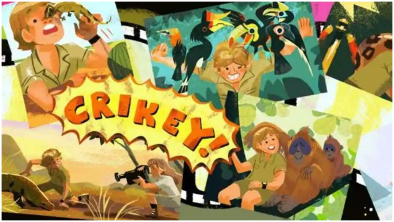 Google acknowledges achievements of Steve Irwin, honours him with Doodle on birth anniversary
