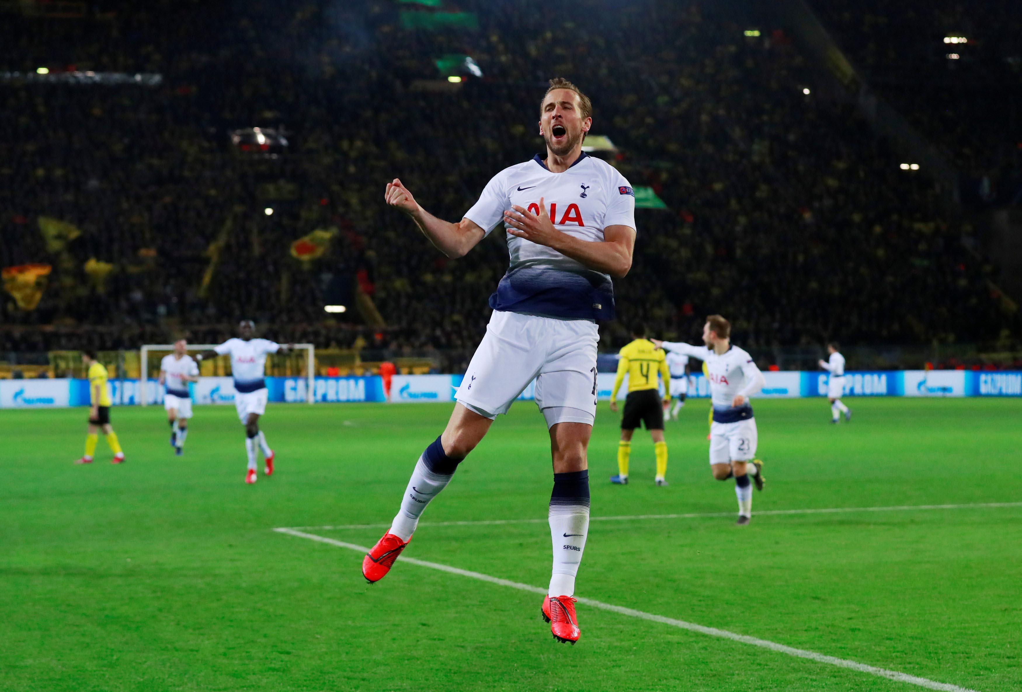 Champions League: Harry Kane scores in Dortmund as Tottenham stroll into last eight
