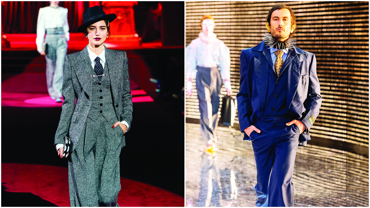 '40s tailoring is back