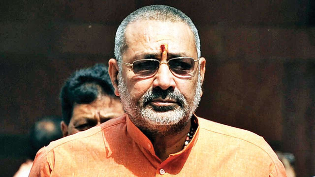 Lok Sabha polls 2019: Denied ticket from Nawada, Giriraj Singh goes into a sulk