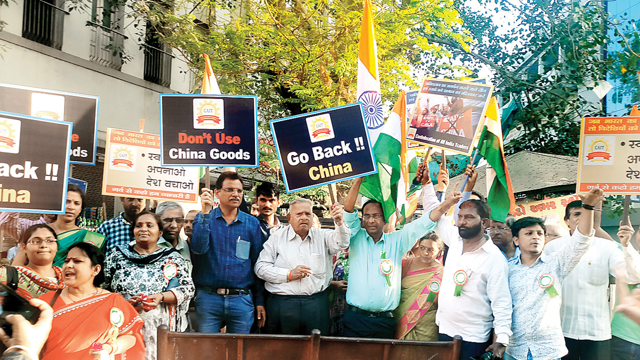 Time and again Ahmedabad traders ditch CAIT rallies