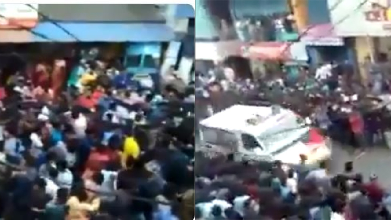 Kerala: Viral video showing people dancing in festival swiftly making way for ambulance is winning internet