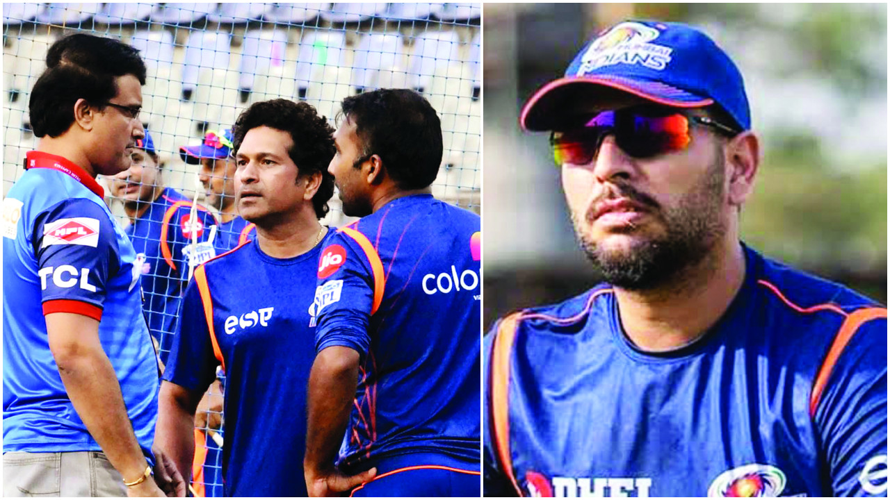 Yuvraj Singh out to turn back the clock in new home