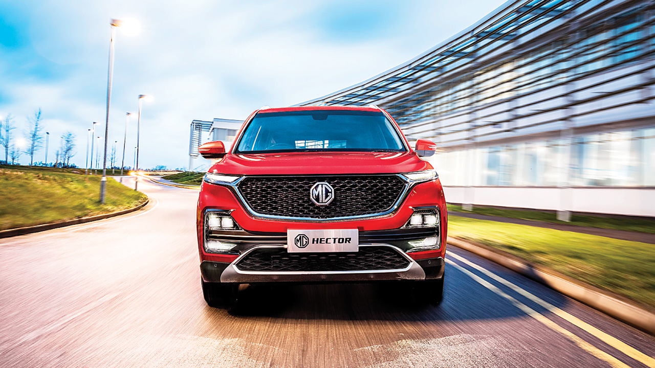 MG Motors to launch India's first internet-enabled car in June