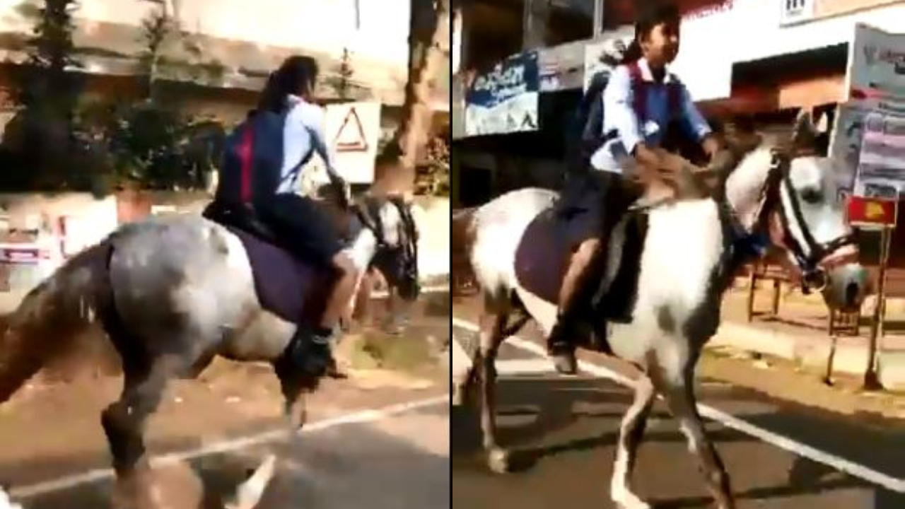 'She's my hero': Anand Mahindra praises class X girl who rides horse to reach exam centre in Kerala