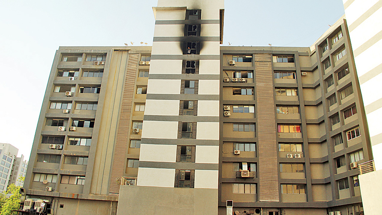 AMC serves notices to eight buildings over fire hazard