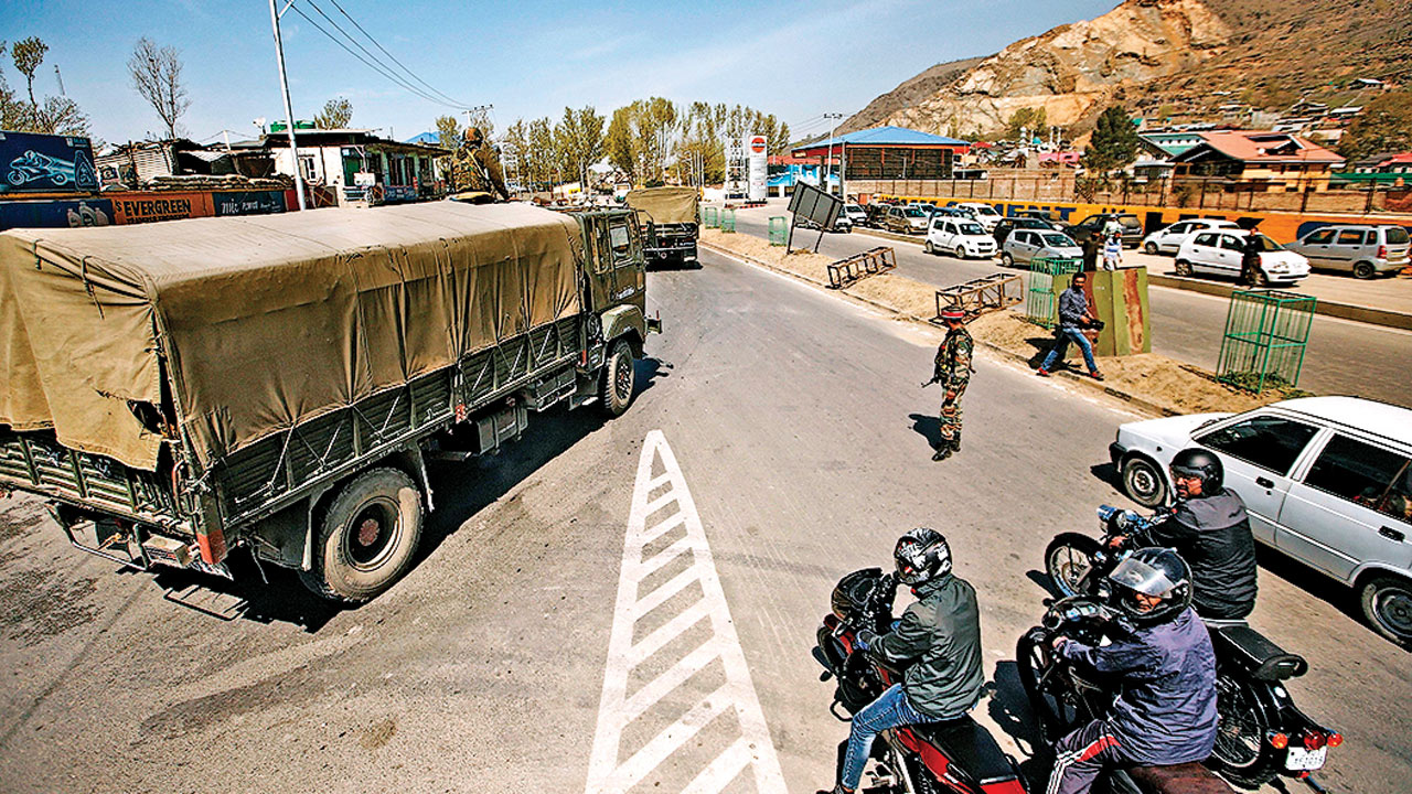 Polling over, J eases traffic restrictions on national highway