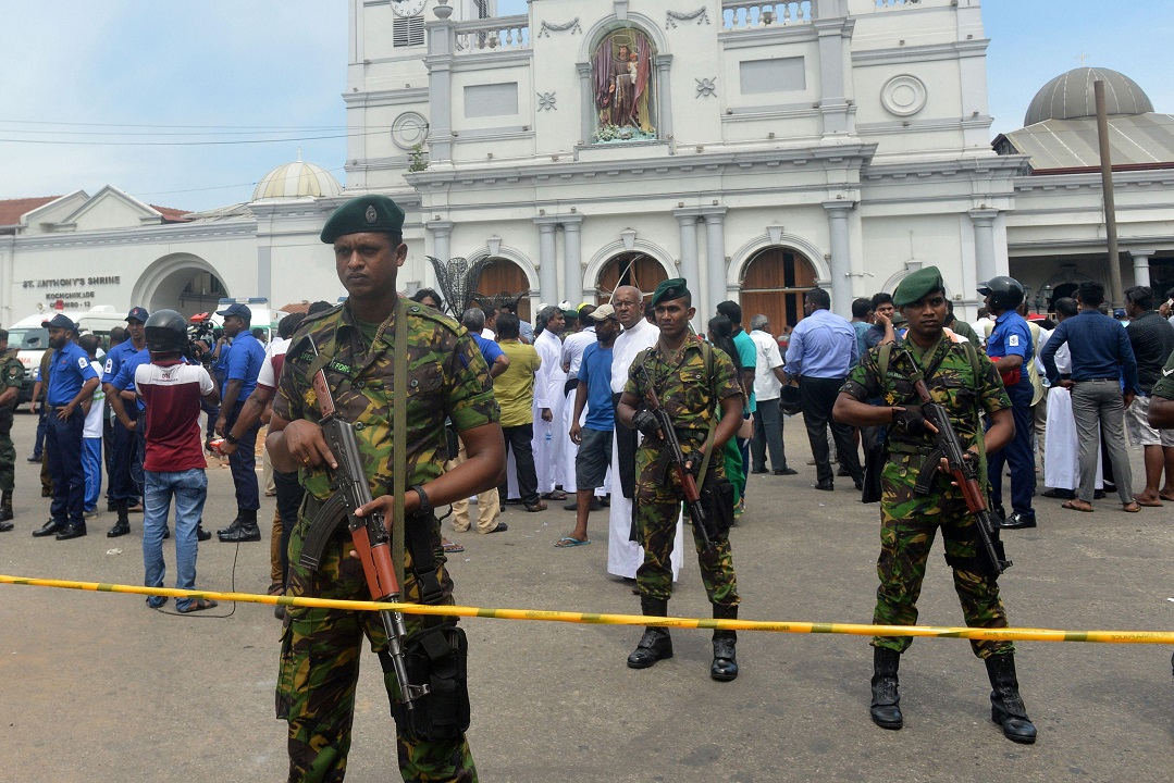 Sri Lankan government declares curfew, imposes temporary social media ban after 8 blasts rock nation, killing nearly 160