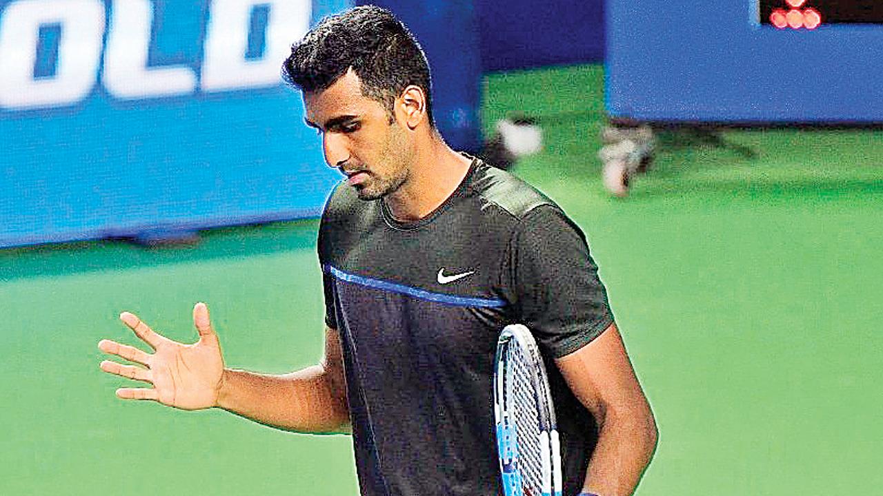 In bid to defend first title, Prajnesh Gunneswaran falters in last step