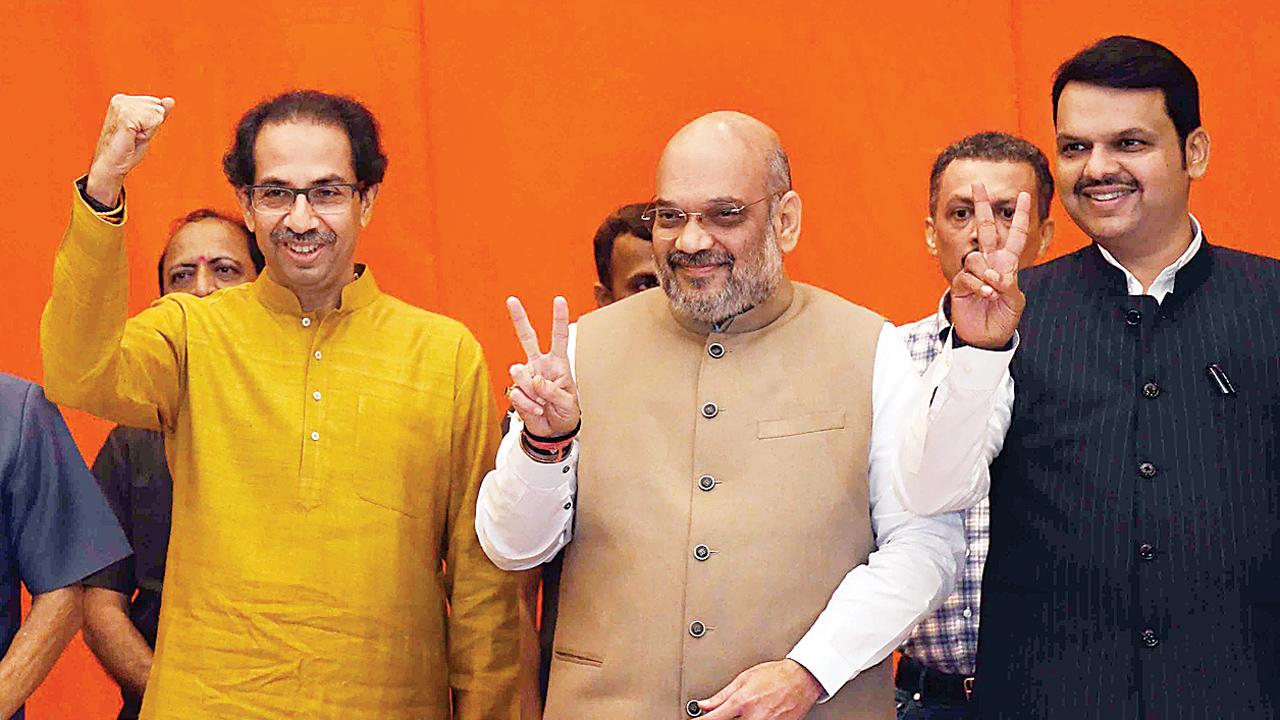 Shiv Sena-BJP tie-up: United at top, divided at grassroots