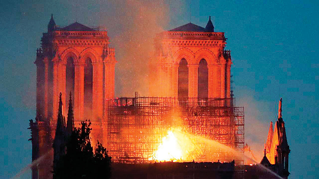 Fire: Notre-Dame and Forbidden City