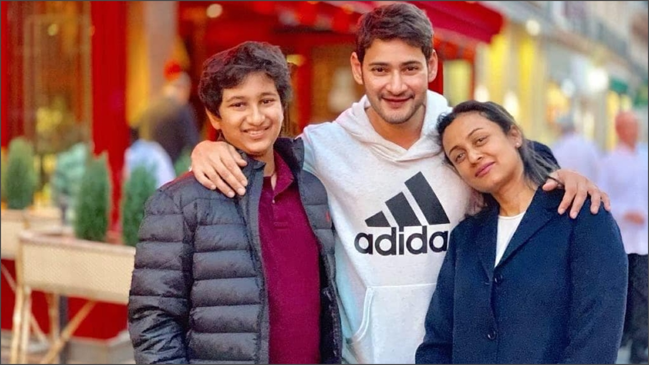 Mahesh Babu spends quality time with wife Namrata Shirodkar and son in Paris after shooting for Maharshi