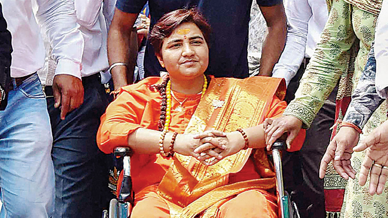 Sadhvi Pragya declares Rs 4 lakh assets; gets FIR for Babri razing remark