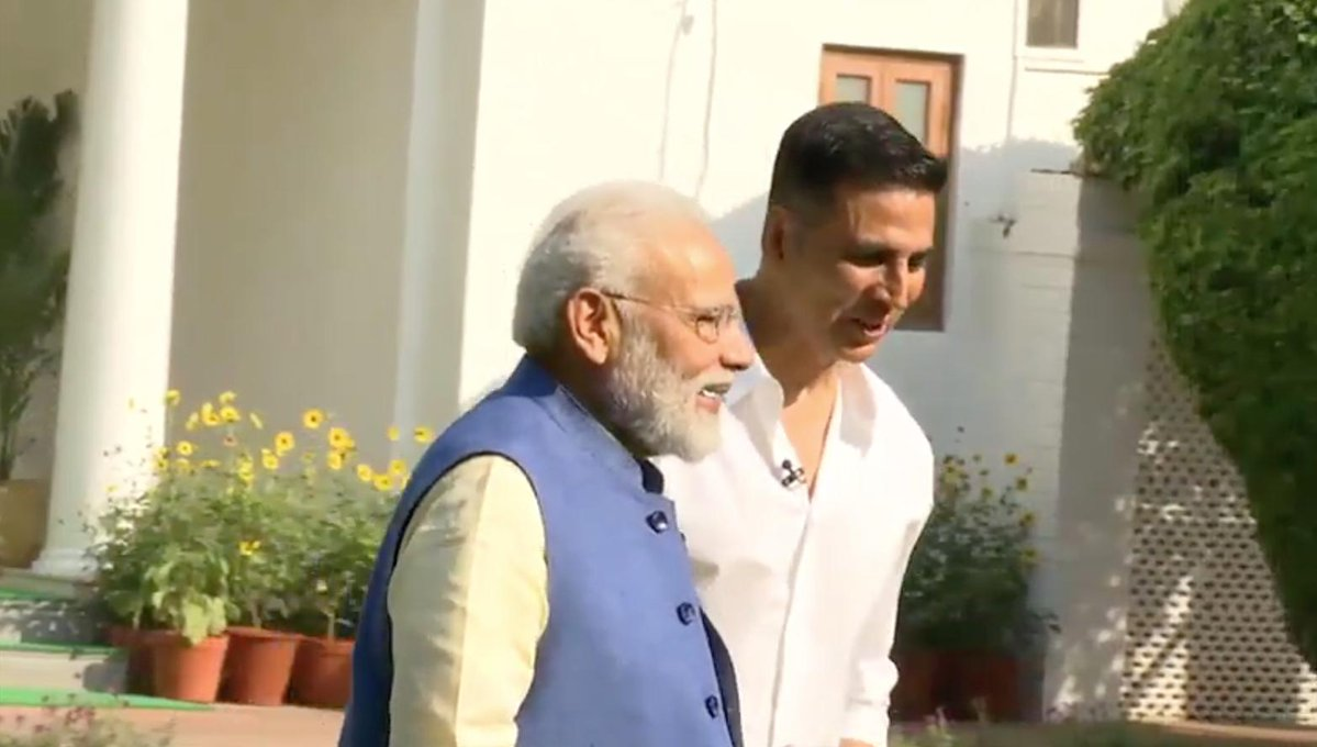 Did he want to become Prime Minister while growing up, Akshay Kumar asked Modi; here is what he said in reply
