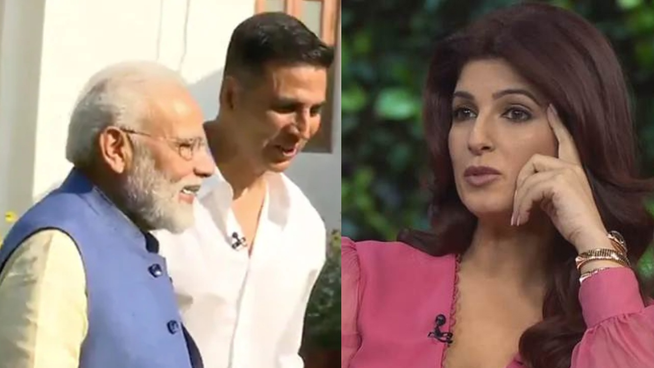Akshay Kumar-Narendra Modi meet: Twinkle Khanna reacts on mention of her name
