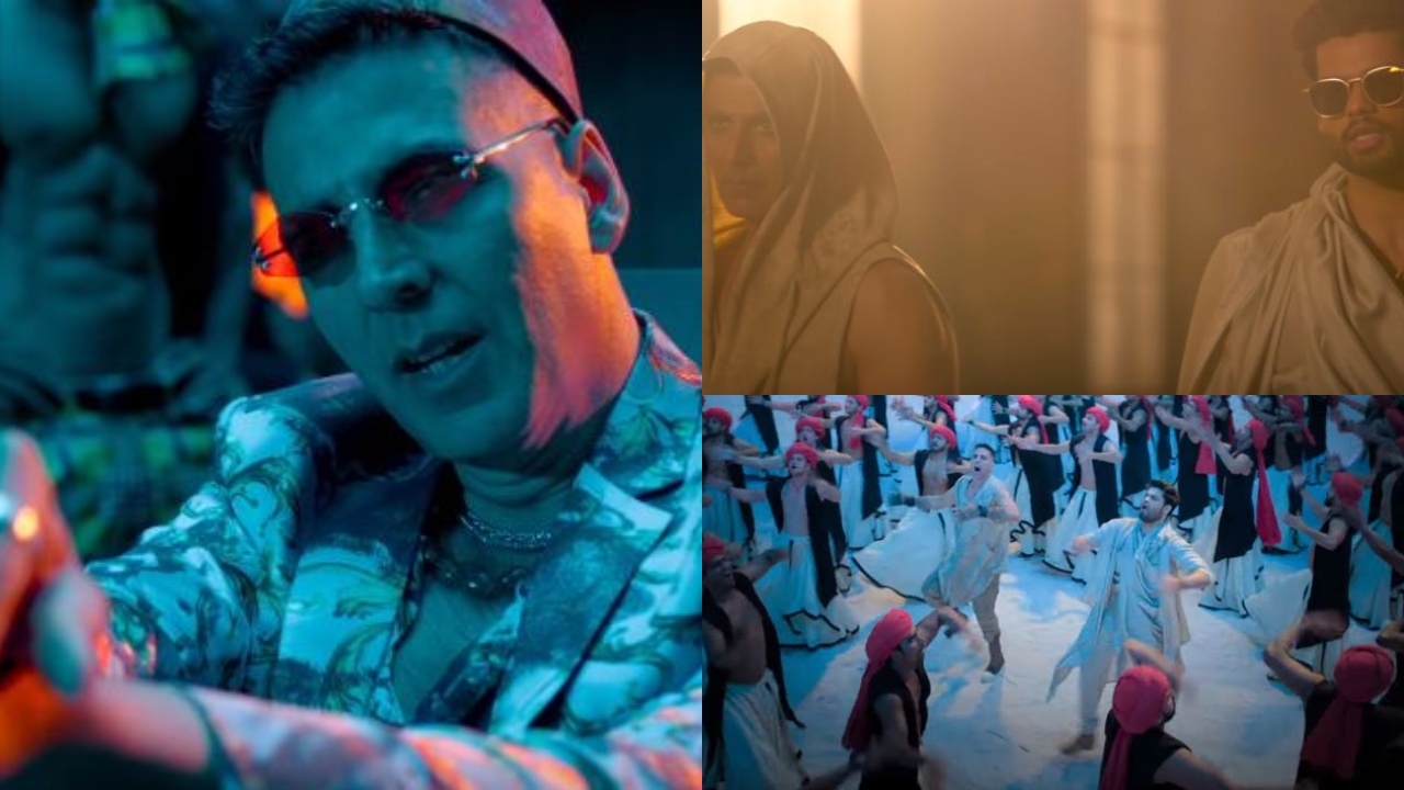 Watch Akshay Kumar's deadly cameo in Karan Kapadia's 'Blank' promotional song 'Ali Ali'