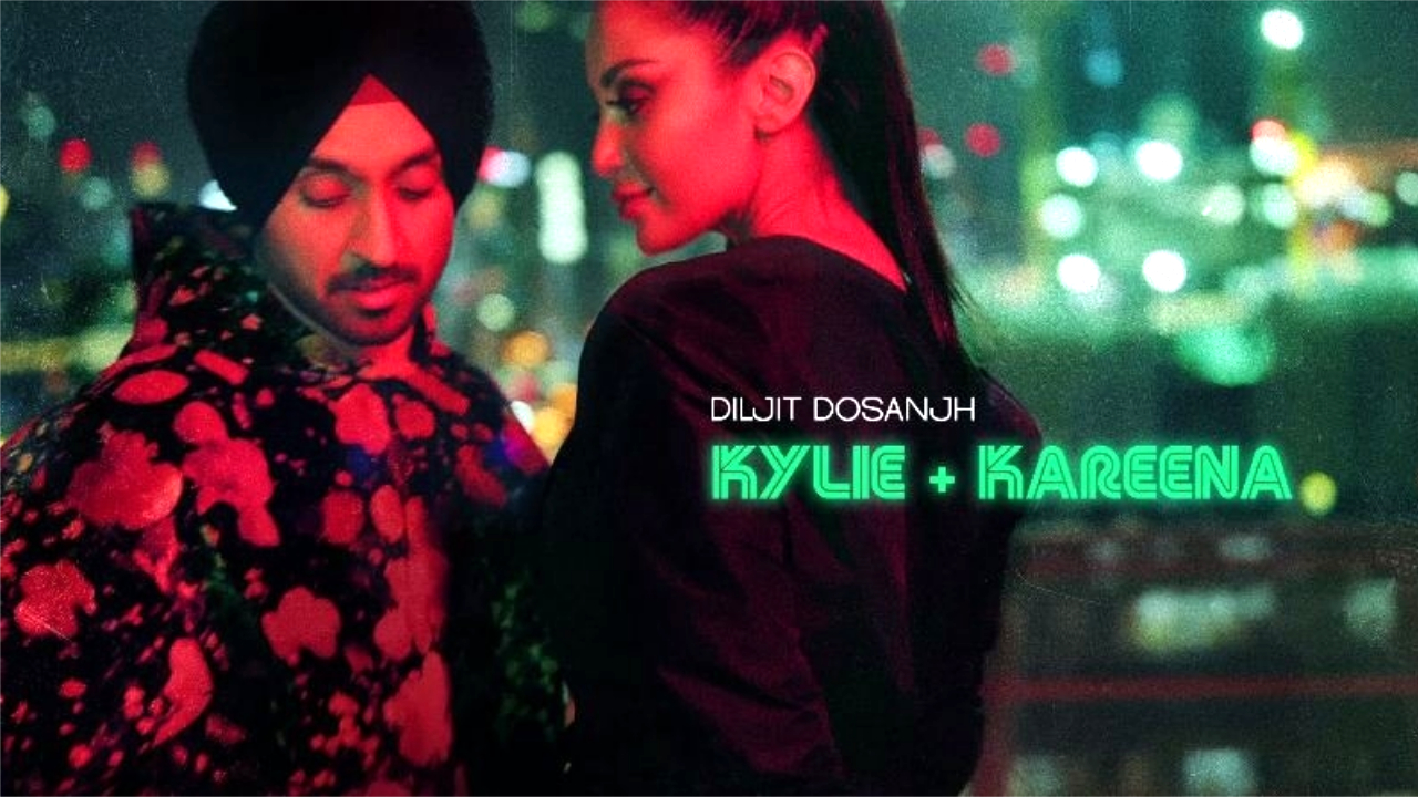 Diljit Dosanjh releases official audio of latest single 'Kylie+Kareena'
