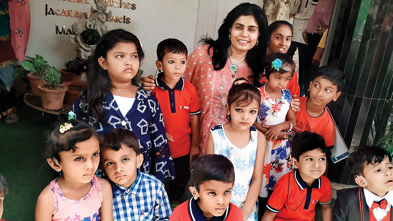 Ahmedabad: Deaf kids step into the world of sounds