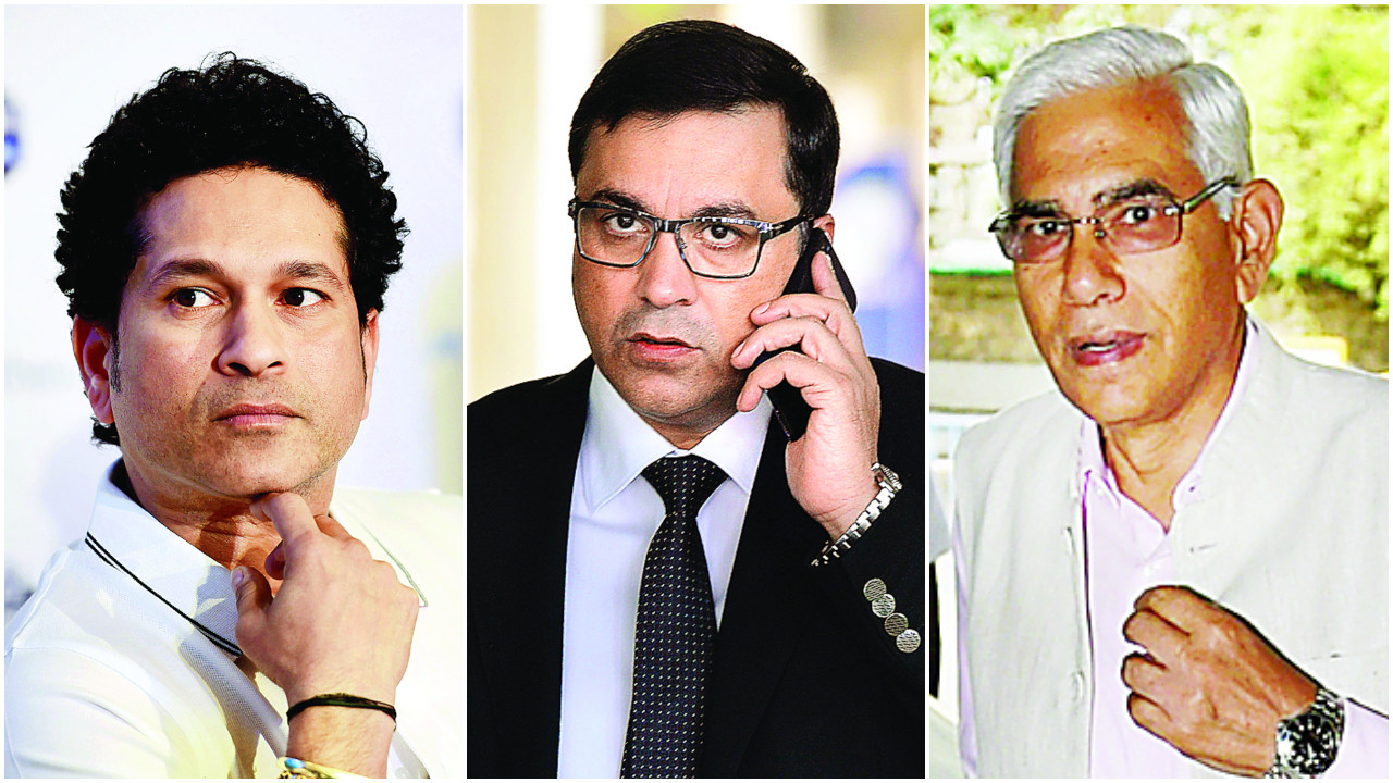 Sachin Tendulkar takes on Rahul Johri, Vinod Rai over conflict controversy