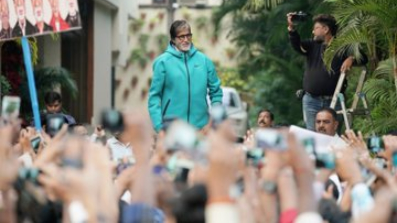 Here's why Amitabh Bachchan was forced to cancel his Sunday meet and greet with fans