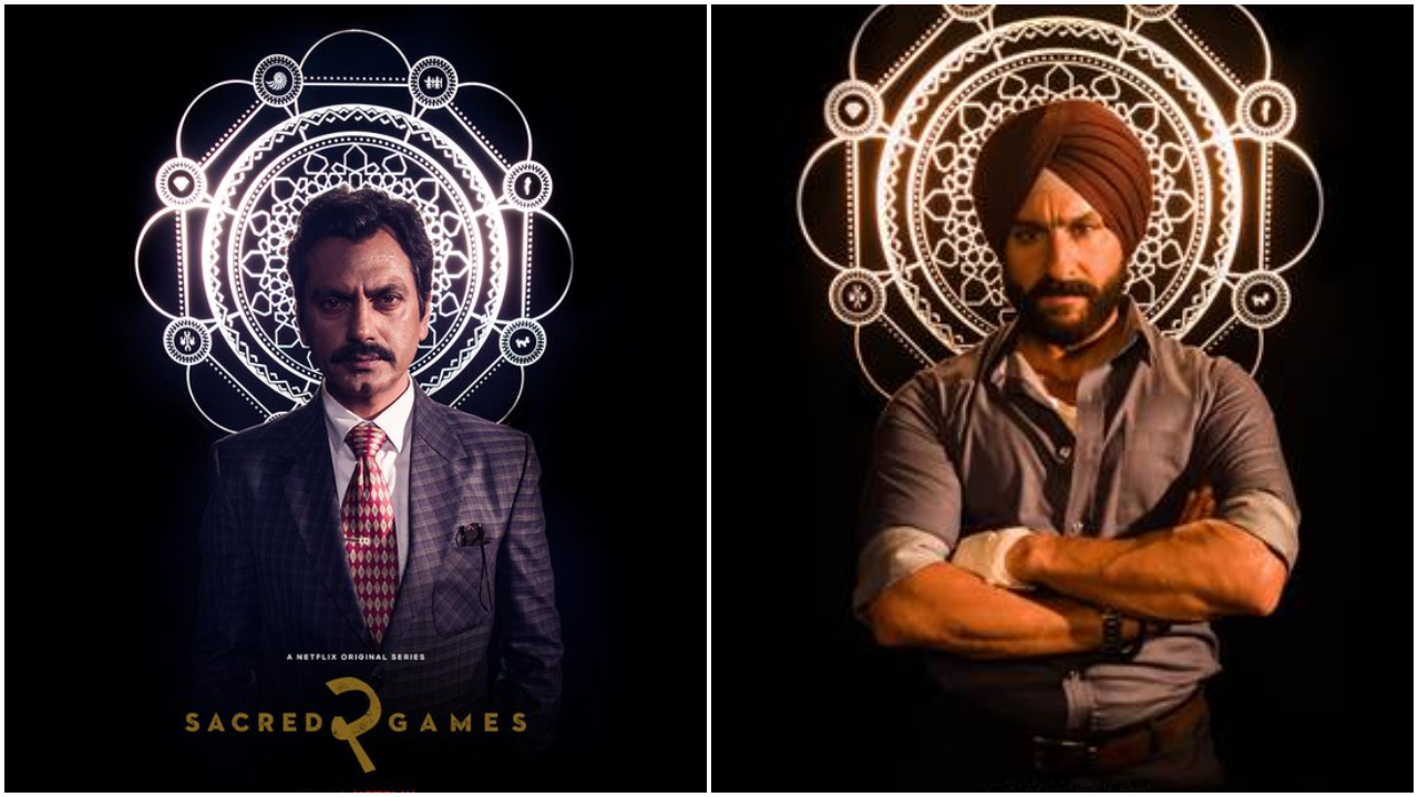 'Sacred Games 2' character posters: Nawazuddin Siddiqui as Gaitonde is suited up, Saif Ali Khan as Sarjat is intense