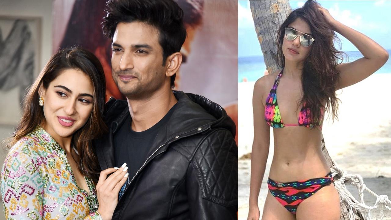 Sushant Singh Rajput dating Sara Ali Khan's one-time BFF Rhea Chakraborty?