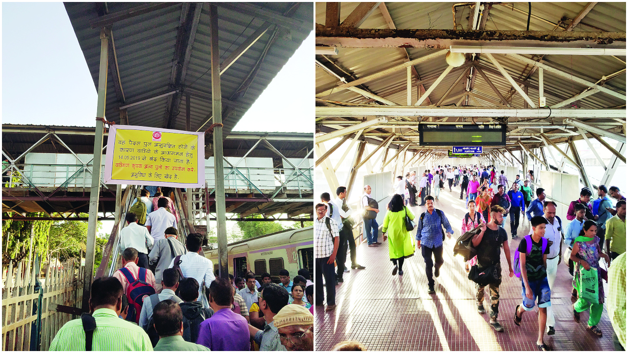 Mumbai: South-end FOB to Dadar to remain shut from today