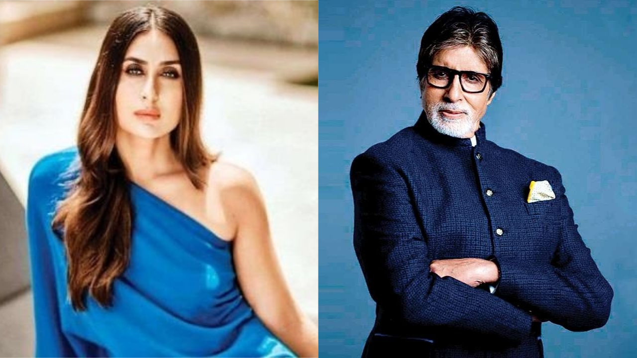 Flashback Friday: Amitabh Bachchan shares major throwback picture with baby Kareena Kapoor Khan