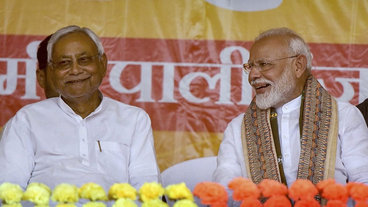 Nitish Kumar terms EVM issue bogus, clears stand on Article 370, Uniform Civil Code