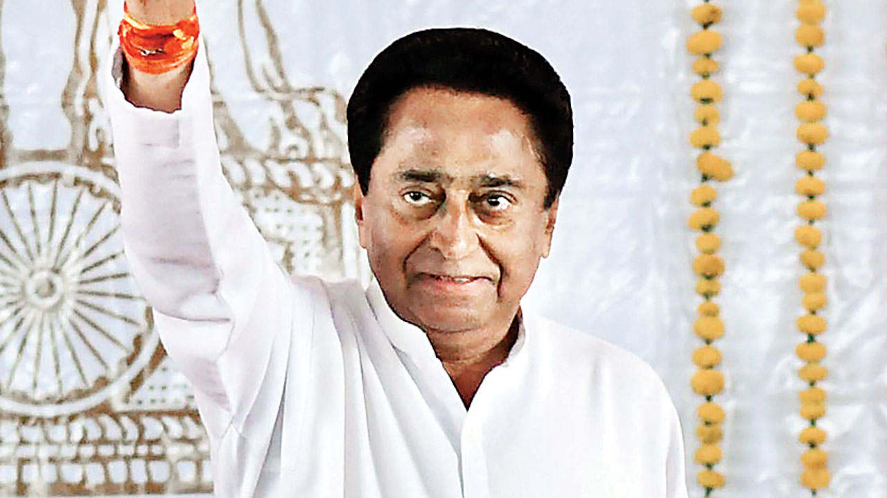 BJP moneybags after 10 Congress MLAs, says Kamal Nath