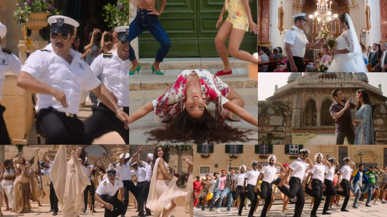 'Bharat' song 'Turpeya': Salman Khan as handsome navy officer gets groovy with Nora Fatehi