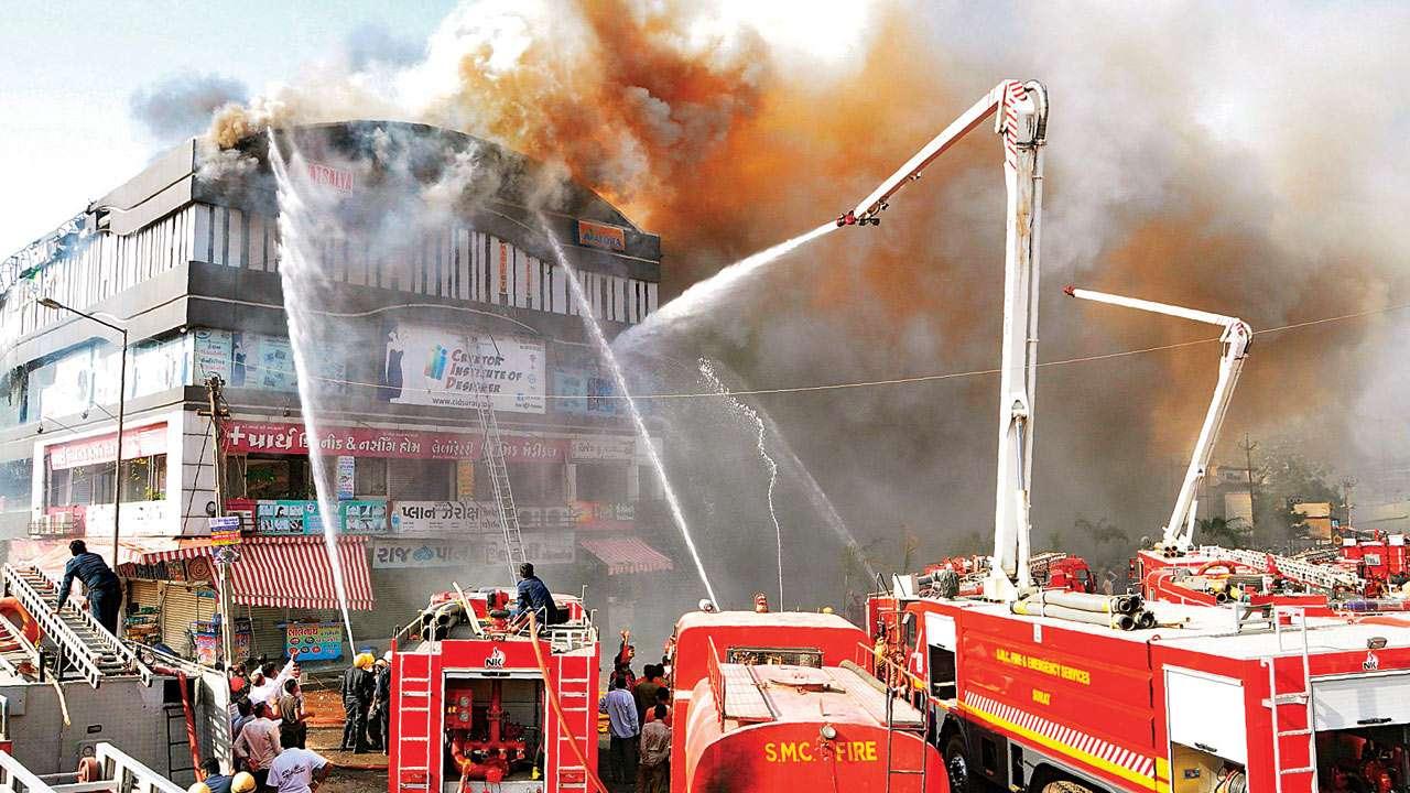 DNA Edit: Surat tragedy - Despite disasters, buildings have no fire escapes